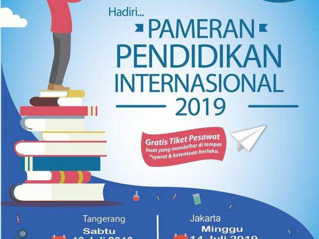 Pameran Pendidikan Internasional jakarta