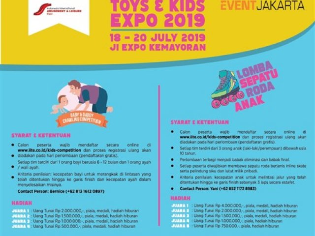 Indonesia International Toys & Kids Expo 2019