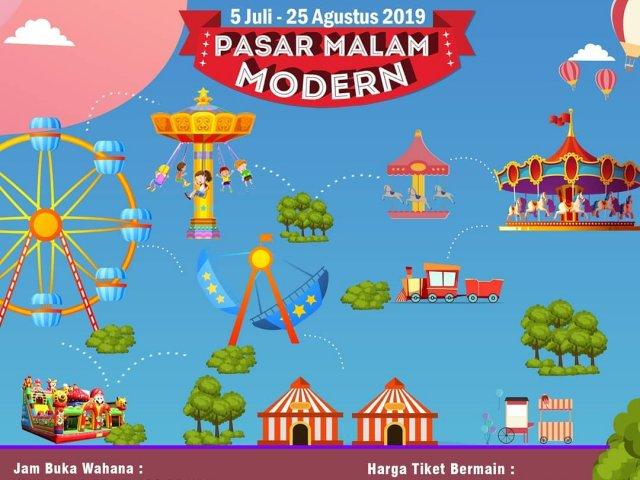 Pasar Malam Modern – Plaza Medan Fair