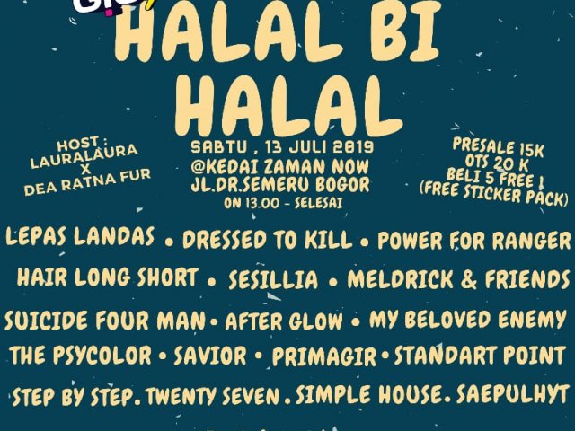 Halal Bi Halal Gigs Movement 2019