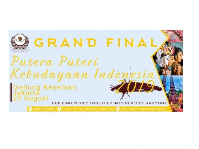 Grand Final Putera Puteri Kebudayaan Indonesia 2019