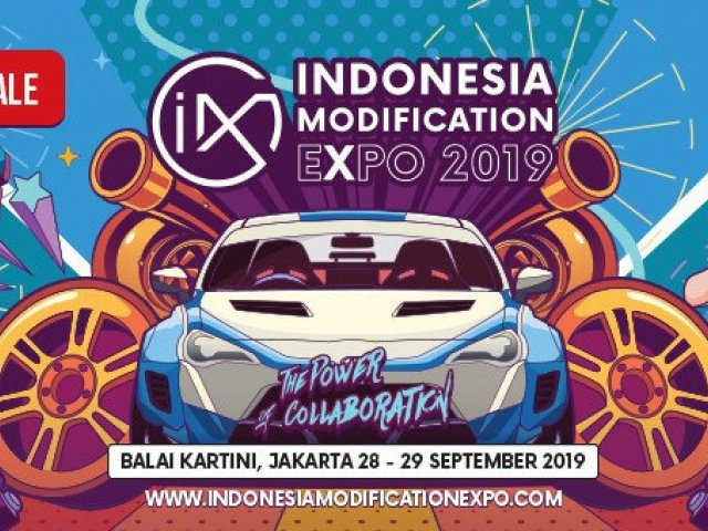 Indonesia Modification Expo (IMX) 2019
