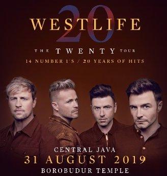 Weslife Live In Borobudur