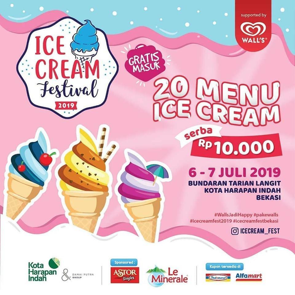 Ice Cream Festival Bekasi 2019 At Tugu Tarian Langit Kota Harapan Indah Bekasi Goopps Event Management Promosi Event Gratis Kelola Eventmu Secara Profesional Dengan Goopps