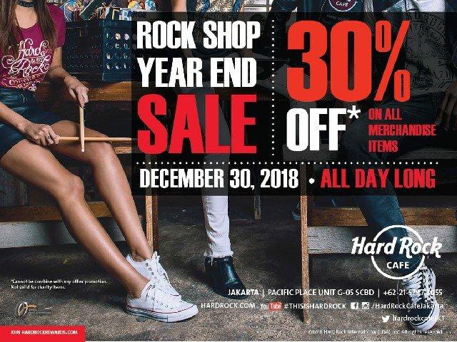 Rock Shop End Year Special Sale