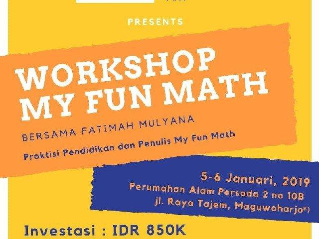 Workshop My Fun Math