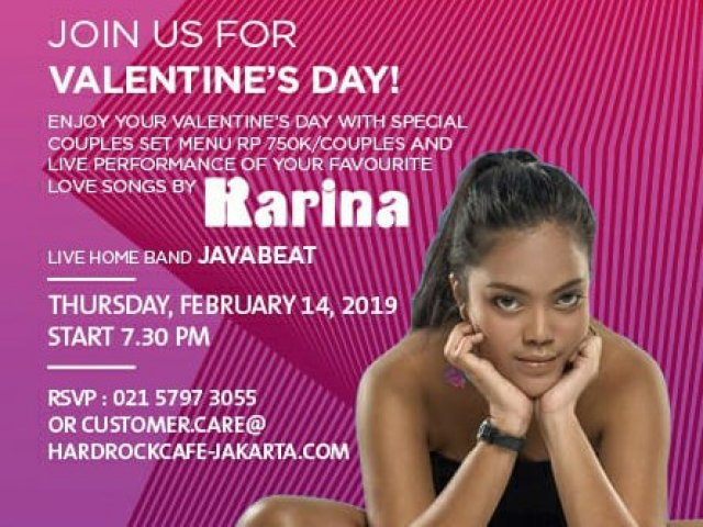 Valentine's Dinner @ Hard Rock Café Jakarta