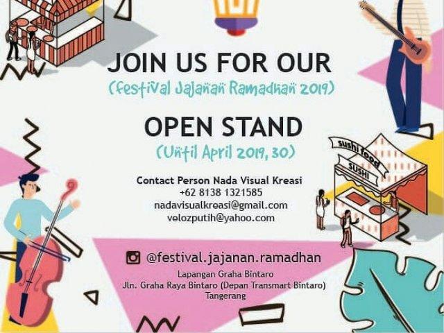 Festival Jajanan Ramadhan 1440 H tahun 2019