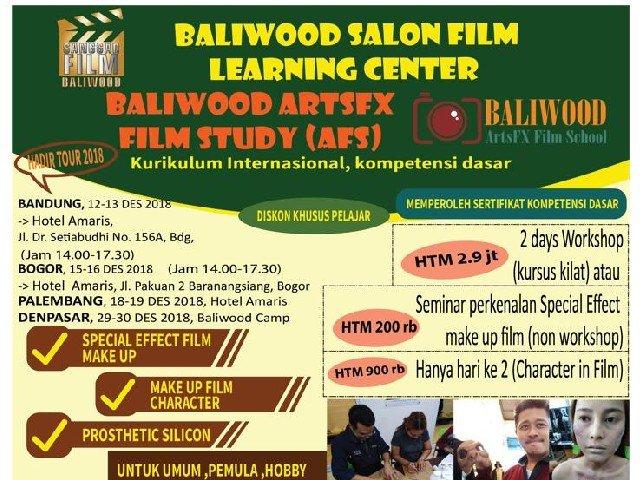 Baliwood ARTSFX Film Study