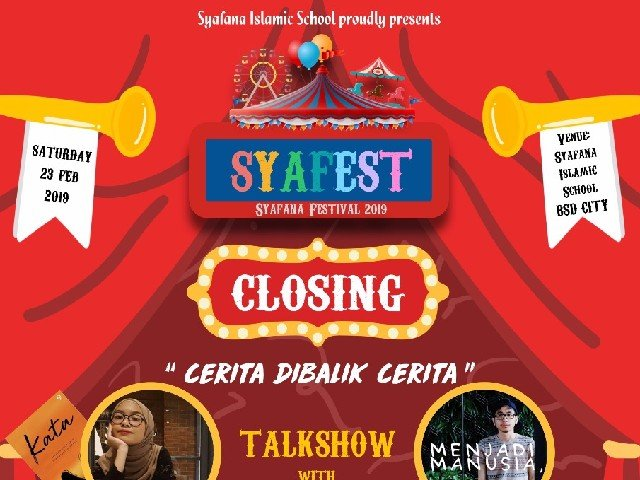 Closing Syafana Festival 2019