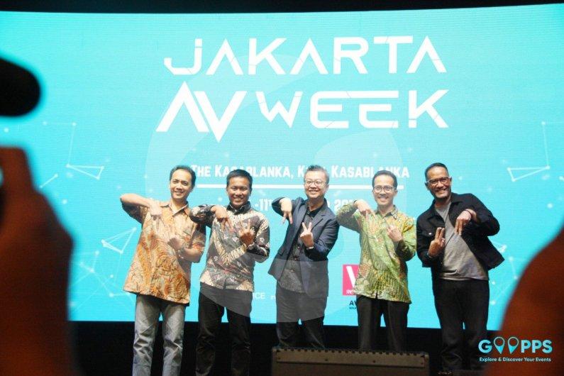 Kemeriahan Hari Terakhir Jakarta Audio Visual Week