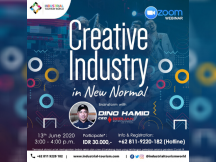 Brainstrom with DINO HAMID :  CREATIVE INDUSTRY IN NEW NORMAL