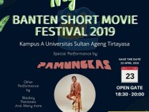 Awarding Night Banten Short Movie Festival 2019