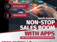 NONSTOP  SALES  BOOM  WITH  APPS