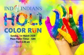 Indoindians Holi Color Run