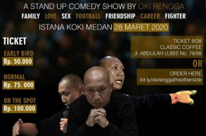 The Other Side a stand up commedy by Oki Rengga