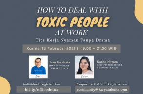 How To Deal With Toxic People at Work